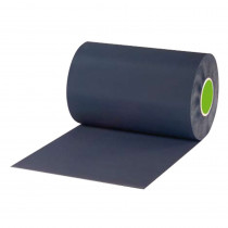 Slabbefolie PVC breedte 300mm zonder profiel (50mtr)