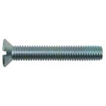 Metaalschroef rvs A2 pk M5x12mm DIN963 (doos a 200 stuks)