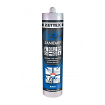Zettex siliconenkit Easy Silicon cremewit 9001 (310ml)