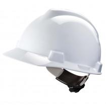 MSA bouwhelm V-Gard 500 met Fas-Trac wit