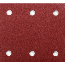 Makita schuurpapier rood 102x114mm K40 perfo (10st)