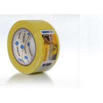 Betonbekistingstape pvc 50mmx33mtr geel
