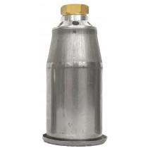 Heetstookkop rvs 50mm aansl M20x1 inch