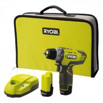Ryobi R12DD-LL13S 12 V 2 toerige boorschroefmachine (2 accu's)