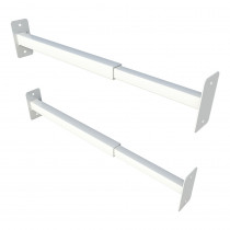 SecuBar barriere-stang Duo wit epoxy 31-55cm