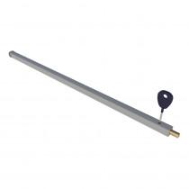 SecuBar schuifpuibeveiliging Ral9006 143cm