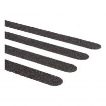 SecuCare antislip sticker zwart langwerpig 19x600mm (15st)