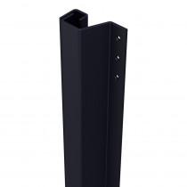 SecuStrip Plus buitendraaiend 0-6mm 1500mm zwartgrijs fijn structuur