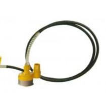 Lumag slang met waterpomp