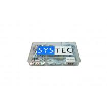 Systec assortimentsdoos 9-vaks carrosseriering verzinkt
