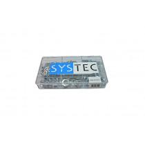 Systec assortimentsdoos 9-vaks veerring Din 127B verzinkt