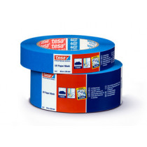 Tesa UV bestendige maskeringstape blauw 25mm x 50 meter