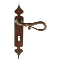 Utensil Legno deurkr. op schild 260x40 blind, gatdeel rs