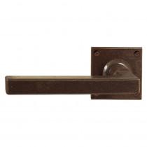 Utensil Legno deurkruk op rozet 50x50mm gatdeel ls/rs