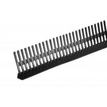 Ubbink vogelschroot zwart 1m. x 55mm.