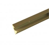 Spurlux klemplankdrager 18mm wit 100cm
