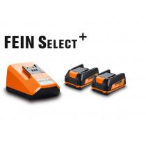 Fein FS+ startset 12V 2.5AH