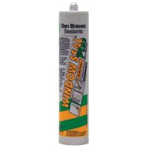 Zwaluw beglazingskit Windowseal P bruin (310ml)